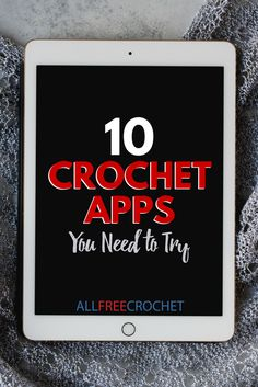 Whether you are new to crochet or just need a helping hand, this list of crochet apps is crazy helpful. Listing both paid and free app options, this list contains stash organizers, social media integrations, stitch counters, free pattern directories, and more! Just follow the link to download these awesome apps. Contains apps for both Apple and Android devices.