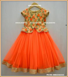 Best 12 kids custom designer wear in bangalore custom designer boutique in bangalore for kids kids frocks and lehenga designs – SkillOfKing. Girls Frock Design, Kids Frocks Design, Baby Frocks Designs, Baby Dress Design, Kids Dress Wear, Kids Gown, Kids Wear, Frocks For Girls, Dresses Kids Girl