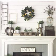 Awesome Farmhouse Style Fireplace Ideas 02