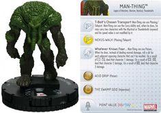 Man-Thing #033 Amazing Spider-Man Marvel Heroclix - Marvel: Amazing Spider-Man - Heroclix