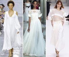 Cool Spring/ Summer 2017 Color Trends: White... kikomania Check more at http://fashionie.top/pin/19505/