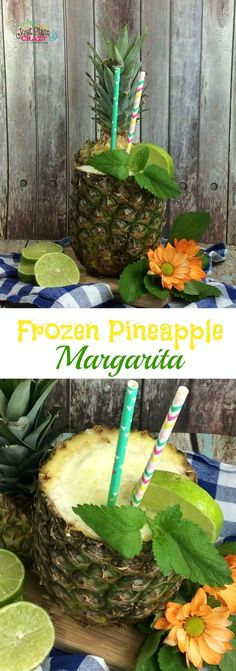 In honor of Cinco de Mayo, we are sharing a Frozen Pineapple Margarita Recipe. T… In honor of Cinco de Mayo, we are sharing a Frozen Pineapple Margarita Recipe. This can be made in a regular blender or a Nutri Ninja®️️ Blender DUO™. Frozen Margaritas, Margarita Recipe Frozen Limeade, Frozen Strawberry Margarita, How To Make Margaritas, Watermelon Margarita, Margarita Recipes, Ninja Blender Recipes, Ninja Recipes, Free Recipes