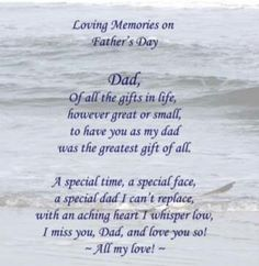 Father's Day Quotes And Sayings Dad In Heaven Quotes, Best Dad Quotes, Fathers Day In Heaven, Funny Fathers Day Quotes, I Love My Father, I Miss My Dad, Father Quotes, Family Quotes, Life Quotes