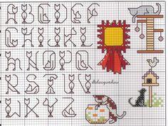 alfabeto bordado - Pesquisa Google