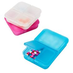 The Container Store > Divided Pill Boxes