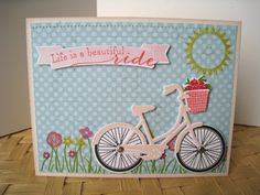 Hello! I wanted to share some of the bikes I created using Papertrey's Pedal Pusher stamp set and dies. They are SO MUCH FUN! There are en...