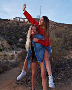 girl, goals, and hollywood image Photo Best Friends, Best Friend Photos, Cute Friends, Best Friend Goals, Best Friends Forever, Cute Friend Pictures, Bff Pics, Shotting Photo, Best Friend Photography