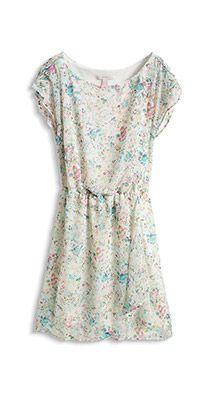 flowing chiffon dress