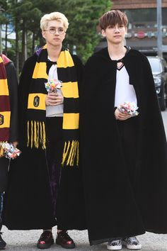 Here we see two hogwarts students