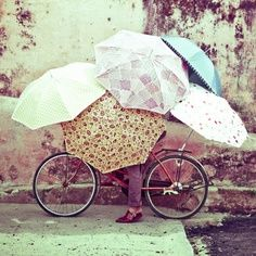 Umbrellas are great in the summer. (especially if you live in a hot place!!) they keep you cooler, and your makeup won't melt quite as fast!!