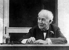 An old Edison, reliving his early telegraph days Alva Edison, Your Teacher, Inventions, History, Light Bulb, Historia, Lightbulbs, Lightbulb