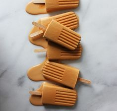 32 Irresistible Caramel Recipes You Have to Try via Brit + Co. Salted Bourbon Caramel Pops