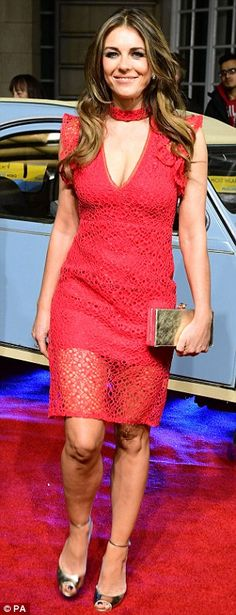 Elizabeth Hurley attends The Time Of Their Lives premiere   Daily Mail Online