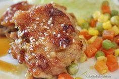 Honey Glazed Pan-Seared Chicken