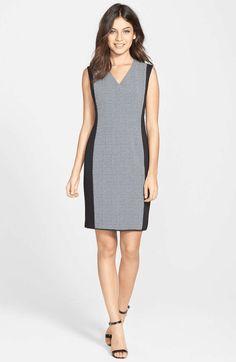 Colorblock Cutout Dress