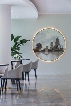 通透素雅 | 杭州万科公园里售楼处设计Hangzhou Vanke Sales house by MoreDesignOffice+AAI