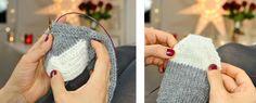 Wozu Socken stricken? Man kann sie nur daheim tragen oder sie sind in Schuhen versteckt, es dauert furchtbar lange sie zu stricken, man kann sie nur mit Nadelspiel machen (aaarrghhh*weglauf*) und a…