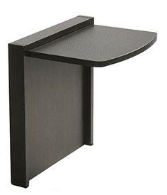 Amazon.com: Mullner Tuc-Away Tables MTC-2129-BRN Folding End Table, Walnut: Furniture & Decor