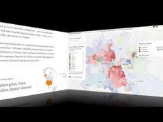 Zugezogene und gebürtige Berliner – Die Datenanalyse zum Mauerfall (1:30) + …