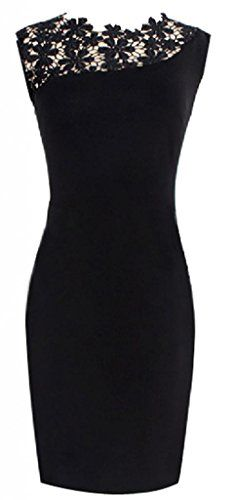 Women Lace Stretch Clubwear Cocktail Evening Party Bodycon Pencil Dress ACEFAST INC http://www.amazon.com/dp/B00NILK9B8/ref=cm_sw_r_pi_dp_LhXlub022YMMV