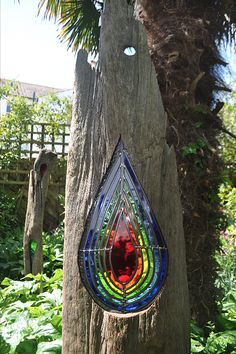 Louise V Durham Stained Glass Sculptures