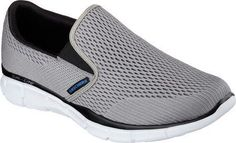 Equalizer-Double Play, Baskets Basses Homme, Gris (Charcoal/Grey), 44 EUSkechers