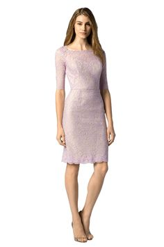 cdebbcce3b77 Shop Watters Bridesmaid Dress - 7253 in Bella Lace at Weddington Way. Find  the perfect made-to-order bridesmaid dresses for your bridal party in your  ...