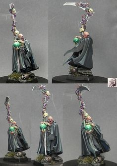 sorcier - Nice look for a necromancer.