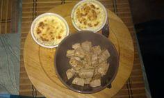 Crema potatoes and meal