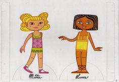 Maestra de Infantil: Recortables. Prendas de vestir y muñecas.