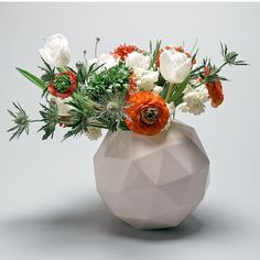 Add geometry to any table top with this vase! Geo Vase | Urbilis