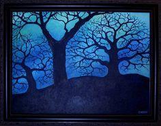 Winter Tree, Sue Carlin, artist