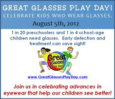 Great Glasses Play Day!