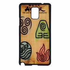 Avatar 4 Elements 2 Samsung Galaxy Note 4 Case