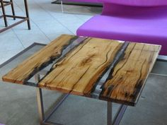 Awesome Resin Wood Table Project 41