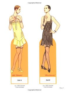 Art Deco Fashions Paper Dolls (Dover Paper Dolls): Tom Tierney: 9780486441580: Amazon.com: Books