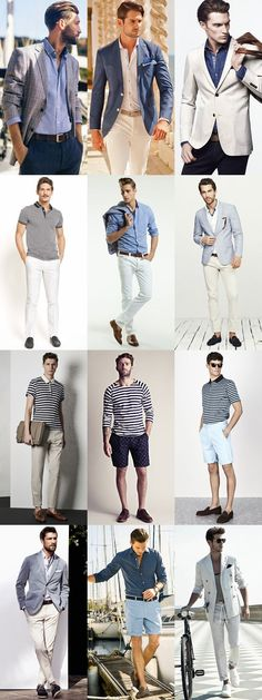 Not everyone ventures out to the beach for Summer vacation. Check out these great, city inspired, Spring looks for guys
