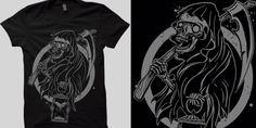 """""""Dead"""" t-shirt design by deadart"""