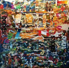 "Saatchi Art Artist Julien Corcoran Porisse; Painting, ""NAME GAME"" #art"