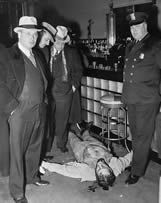 Harry Millman crime scene photo.