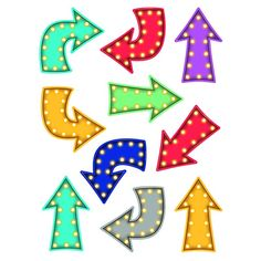 - Marquee Arrows Accents, Use this decorative artwork to dress up classroom walls and doors, label bins and desks, or accent bulletin boards. Classroom Quotes, Classroom Walls, Classroom Themes, Red Classroom, Classroom Design, Welcome To School, Classroom Birthday, Arrow Decor, Teacher Created Resources