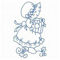 OregonPatchWorks.com - Sets - Sweet Night Sunbonnet Girls