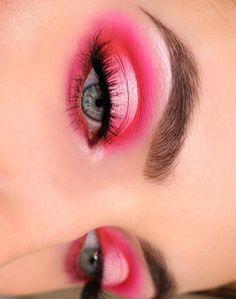 Makeup Eye Looks, Eye Makeup Art, Cute Makeup, Pretty Makeup, Beauty Makeup, Beauty Skin, Creative Eye Makeup, Colorful Eye Makeup, Black Girl Makeup