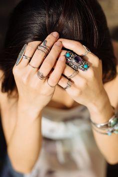 Boho turquoise jewelry