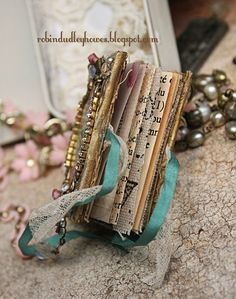 I am smitten with tiny things and after seeing so many adorable miniature books on pinterest I decided to figure out how to make my own and...