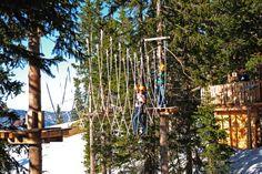 ABENTEUERPARK PLANAI - Sonnenklettern mit Aussicht auf über 1800 m Seehöhe! Planer, Arch, Outdoor Structures, Ski, Climbing, Adventure, Hiking, Arches, Bow
