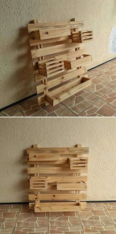 mind blowing pallet wall shelf ideas 2019 mind blowing pallet wall shelf ideas The post mind blowing pallet wall shelf ideas 2019 appeared first on Pallet ideas. Pallet Wall Shelves, Pallet Walls, Pallet Furniture, Shelf Wall, Wooden Pallets, Wooden Diy, Pallet Wood, Outdoor Pallet Projects, Wood Projects