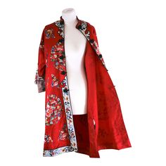 Image result for chinese silk long jackets