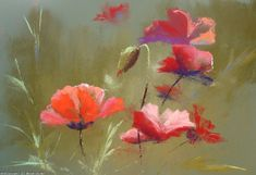 Artwork >> Breton Michel >> Coquelicots2