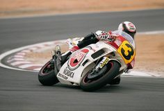 Wayne Rainey - Team Roberts Lucky Strike Yamaha YZR500V4 - 1989
